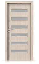 Interiérové dveře Porta FIT F.6 Laminát CPL HQ OŘECH BĚLENÝ