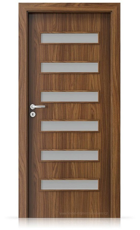 Interiérové dveře Porta FIT F.6 Laminát CPL HQ OŘECH MODENA 1