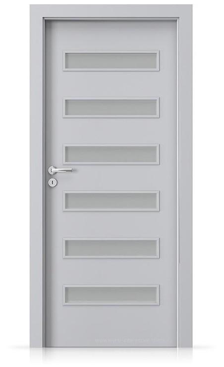 Interiérové dveře Porta FIT F.6 Laminát CPL HQ ŠEDÁ