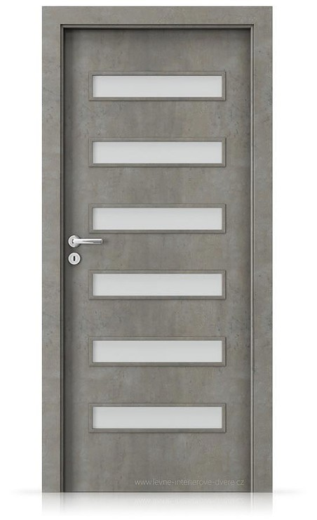 Interiérové dveře Porta FIT F.6 Laminát CPL HQ BETON SVĚTLÝ