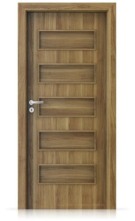 Interiérové dveře Porta FIT G.0 Portasynchro 3D AKÁT MEDOVÝ