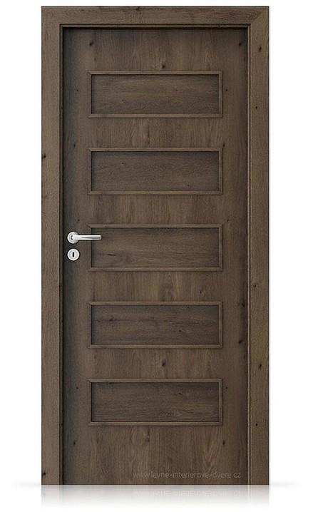 Interiérové dveře Porta FIT G.0 Portaperfect 3D DUB JIŽNÍ