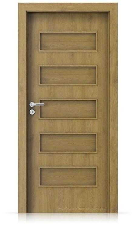 Interiérové dveře Porta FIT G.0 Portaperfect 3D DUB PŘÍRODNÍ
