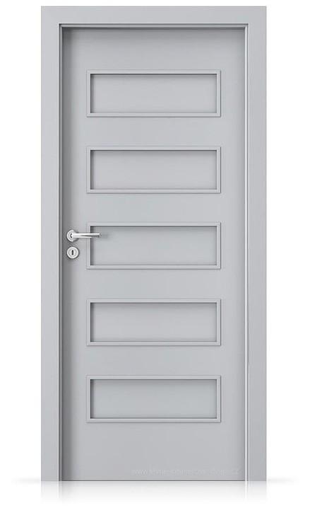 Interiérové dveře Porta FIT G.0 Laminát CPL HQ ŠEDÁ