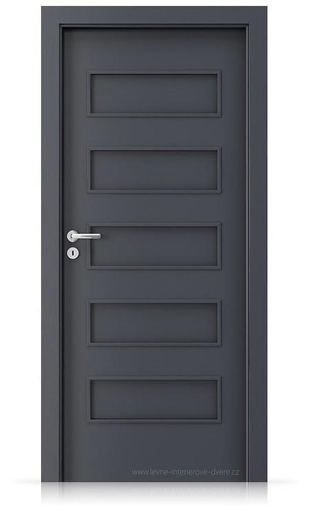 Interiérové dveře Porta FIT G.0 Laminát CPL HQ ANTRACIT HPL/CPL