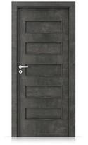 Interiérové dveře Porta FIT G.0 Laminát CPL HQ BETON TMAVÝ