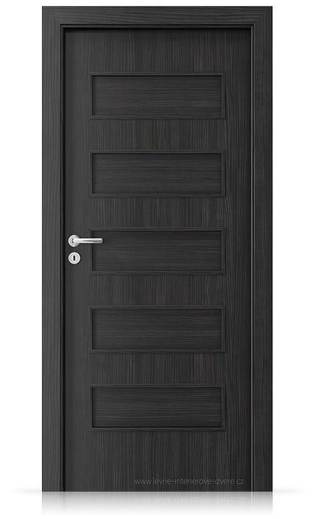 Interiérové dveře Porta FIT G.0 Laminát CPL HQ STRUKTURA TMAVÁ
