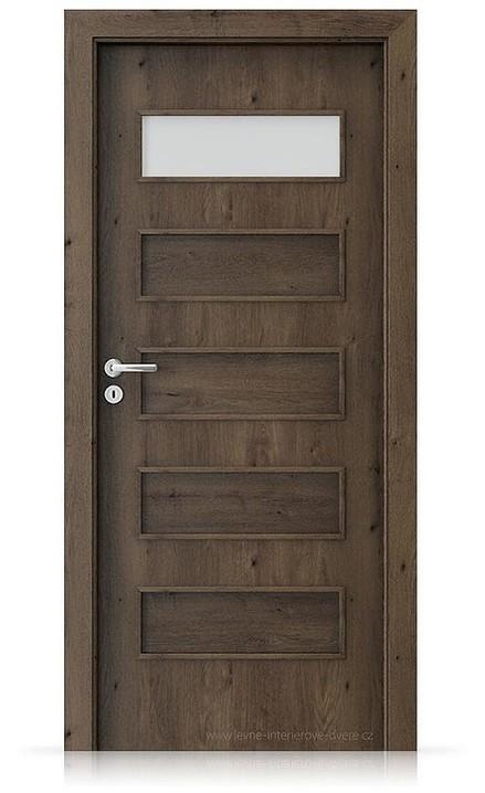 Interiérové dveře Porta FIT G.1 Portaperfect 3D DUB JIŽNÍ