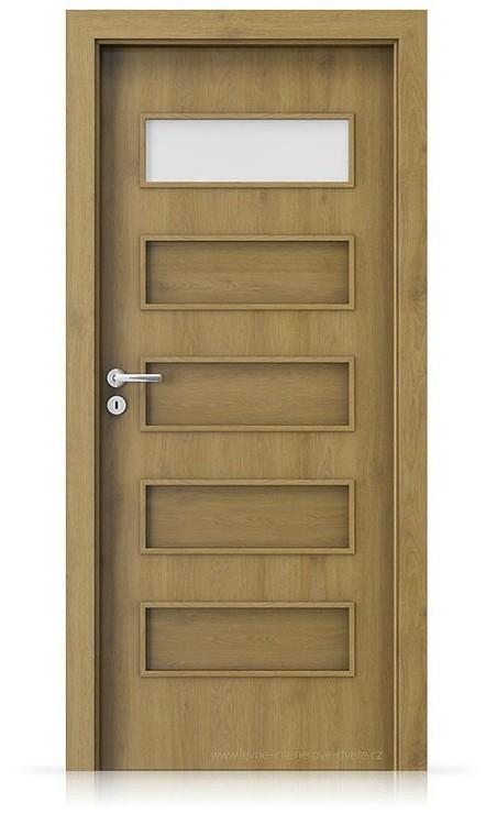 Interiérové dveře Porta FIT G.1 Portaperfect 3D DUB PŘÍRODNÍ