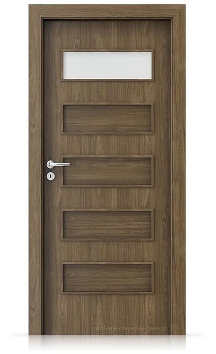 Interiérové dveře Porta FIT G.1 Laminát CPL HQ OŘECH PŘÍRODNÍ