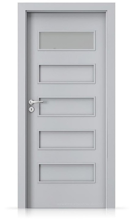 Interiérové dveře Porta FIT G.1 Laminát CPL HQ ŠEDÁ