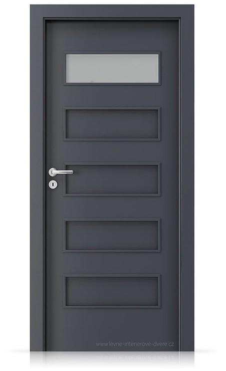 Interiérové dveře Porta FIT G.1 Laminát CPL HQ ANTRACIT HPL/CPL