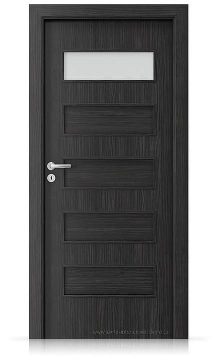 Interiérové dveře Porta FIT G.1 Laminát CPL HQ STRUKTURA TMAVÁ