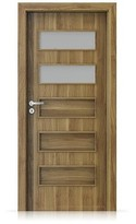 Interiérové dveře Porta FIT G.2 Portasynchro 3D AKÁT MEDOVÝ