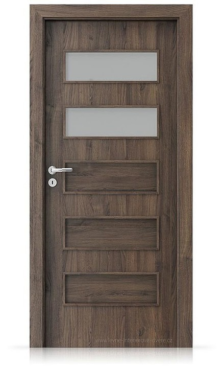 Interiérové dveře Porta FIT G.2 Portasynchro 3D DUB ŠARLATOVÝ