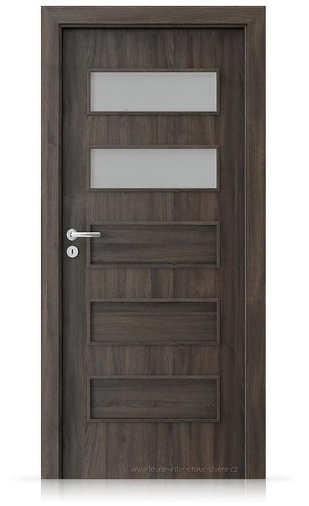 Interiérové dveře Porta FIT G.2 Portasynchro 3D DUB TMAVÝ