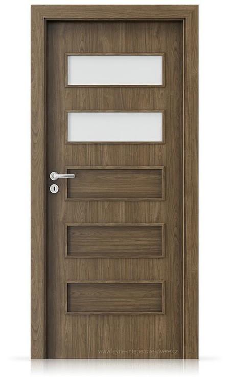 Interiérové dveře Porta FIT G.2 Laminát CPL HQ OŘECH PŘÍRODNÍ