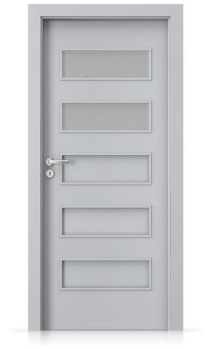 Interiérové dveře Porta FIT G.2 Laminát CPL HQ ŠEDÁ