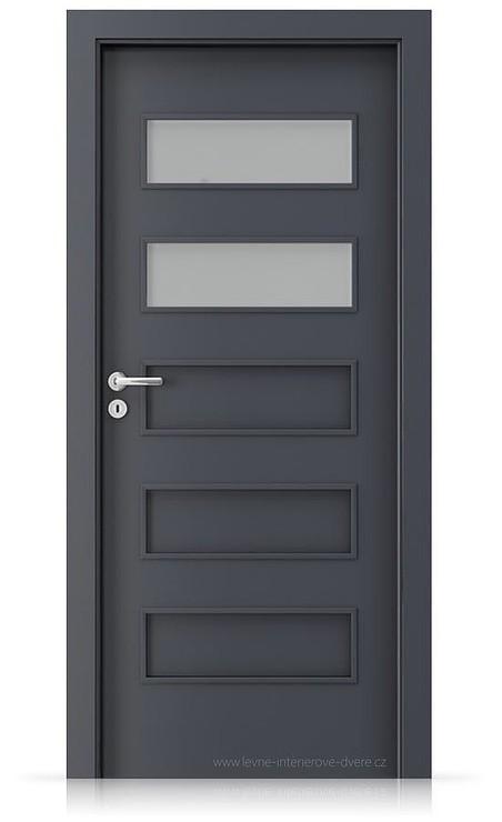 Interiérové dveře Porta FIT G.2 Laminát CPL HQ ANTRACIT HPL/CPL