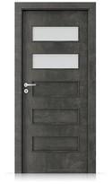 Interiérové dveře Porta FIT G.2 Laminát CPL HQ BETON TMAVÝ