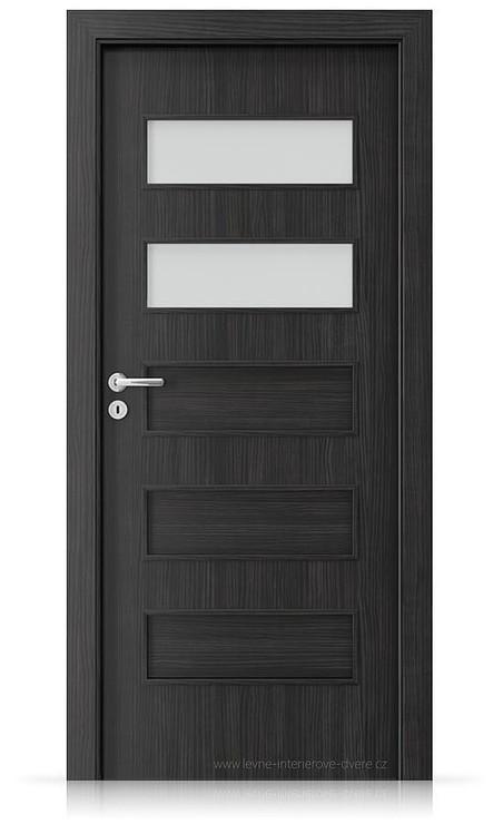Interiérové dveře Porta FIT G.2 Laminát CPL HQ STRUKTURA TMAVÁ