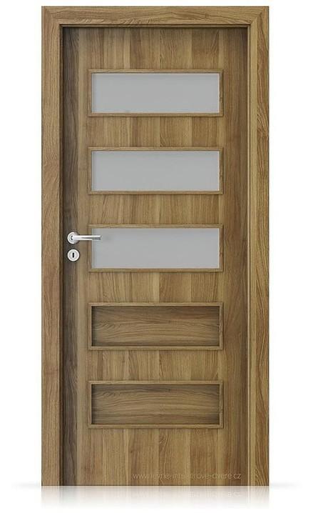 Interiérové dveře Porta FIT G.3 Portasynchro 3D AKÁT MEDOVÝ