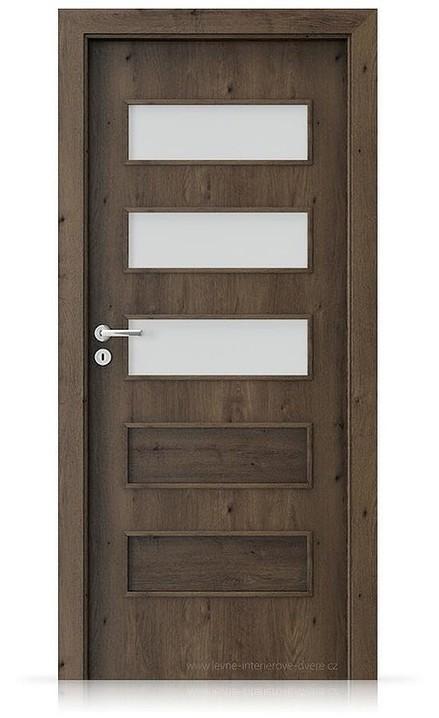 Interiérové dveře Porta FIT G.3 Portaperfect 3D DUB JIŽNÍ