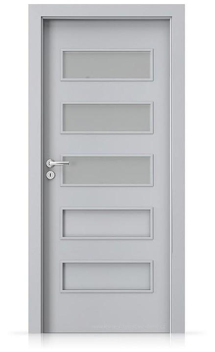 Interiérové dveře Porta FIT G.3 Laminát CPL HQ ŠEDÁ