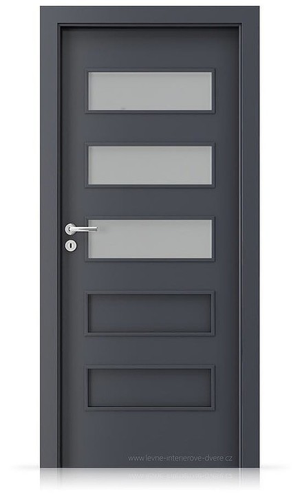 Interiérové dveře Porta FIT G.3 Laminát CPL HQ ANTRACIT HPL/CPL