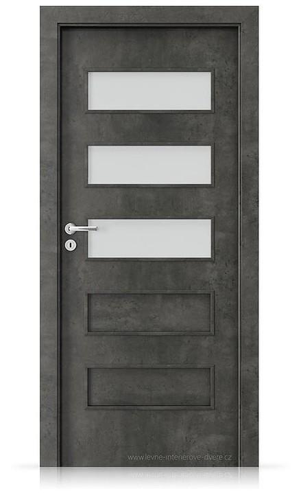 Interiérové dveře Porta FIT G.3 Laminát CPL HQ BETON TMAVÝ