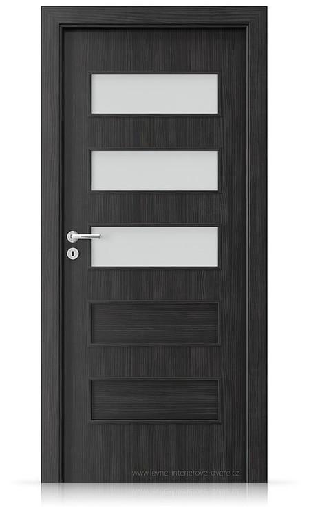 Interiérové dveře Porta FIT G.3 Laminát CPL HQ STRUKTURA TMAVÁ
