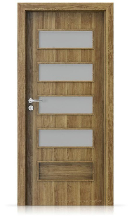 Interiérové dveře Porta FIT G.4 Portasynchro 3D AKÁT MEDOVÝ