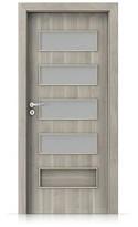 Interiérové dveře Porta FIT G.4 Portasynchro 3D AKÁT STŘÍBRNÝ