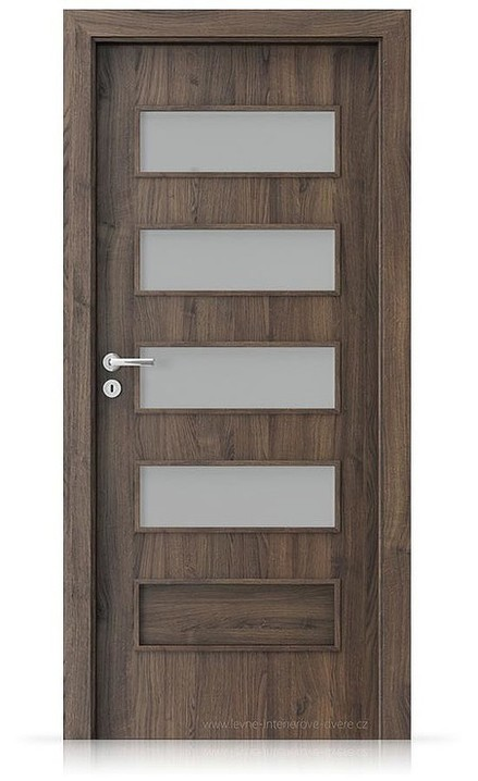 Interiérové dveře Porta FIT G.4 Portasynchro 3D DUB ŠARLATOVÝ