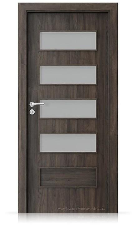 Interiérové dveře Porta FIT G.4 Portasynchro 3D DUB TMAVÝ