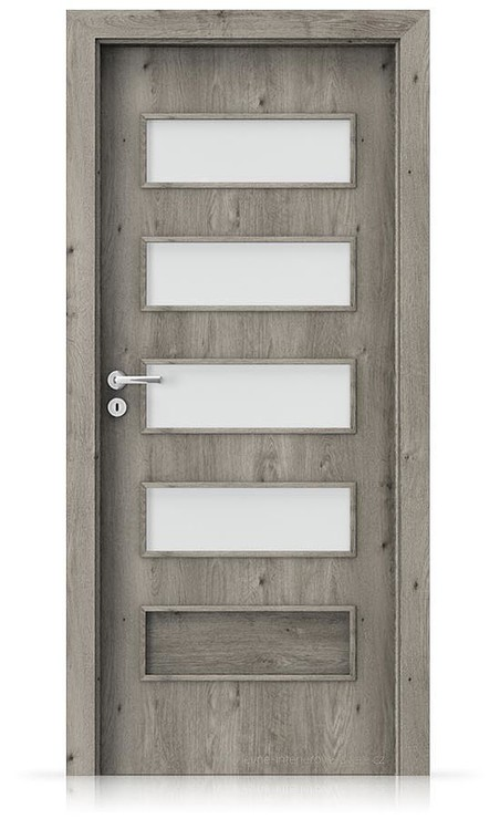 Interiérové dveře Porta FIT G.4 Portaperfect 3D DUB SIBIŘSKÝ