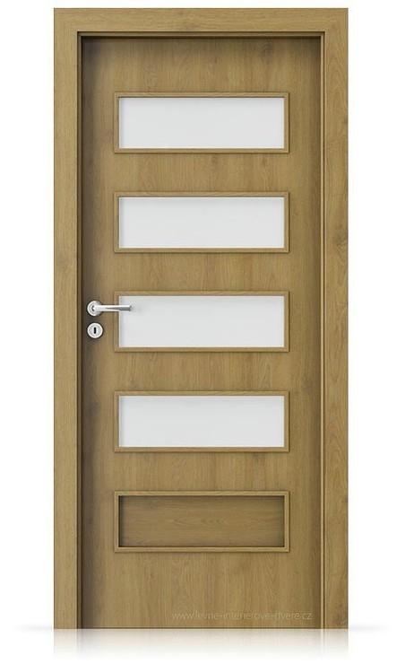 Interiérové dveře Porta FIT G.4 Portaperfect 3D DUB PŘÍRODNÍ