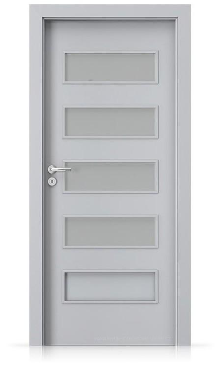 Interiérové dveře Porta FIT G.4 Laminát CPL HQ ŠEDÁ