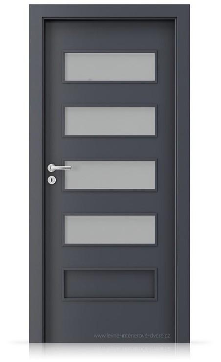 Interiérové dveře Porta FIT G.4 Laminát CPL HQ ANTRACIT HPL/CPL