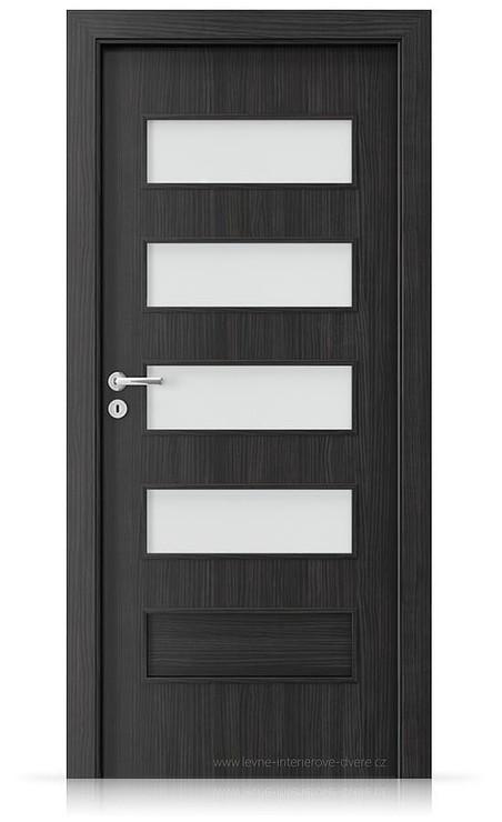 Interiérové dveře Porta FIT G.4 Laminát CPL HQ STRUKTURA TMAVÁ