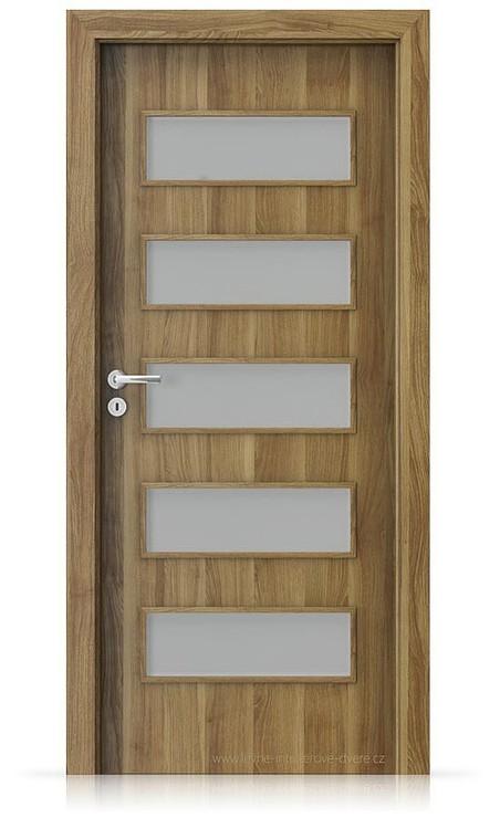 Interiérové dveře Porta FIT G.5 Portasynchro 3D AKÁT MEDOVÝ