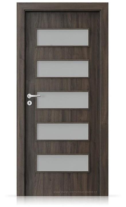 Interiérové dveře Porta FIT G.5 Portasynchro 3D DUB TMAVÝ