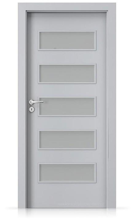 Interiérové dveře Porta FIT G.5 Laminát CPL HQ ŠEDÁ