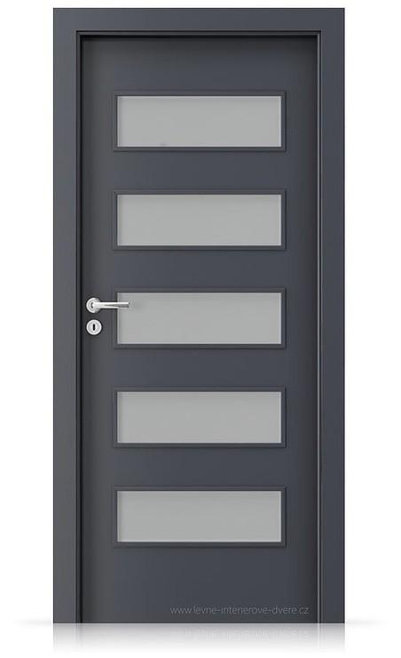 Interiérové dveře Porta FIT G.5 Laminát CPL HQ ANTRACIT HPL/CPL
