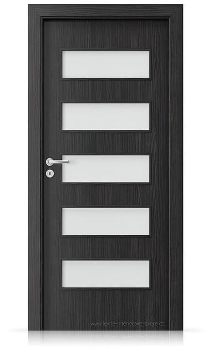Interiérové dveře Porta FIT G.5 Laminát CPL HQ STRUKTURA TMAVÁ