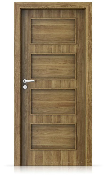 Interiérové dveře Porta FIT H.0 Portasynchro 3D AKÁT MEDOVÝ