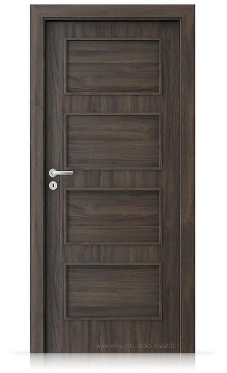 Interiérové dveře Porta FIT H.0 Portasynchro 3D DUB TMAVÝ
