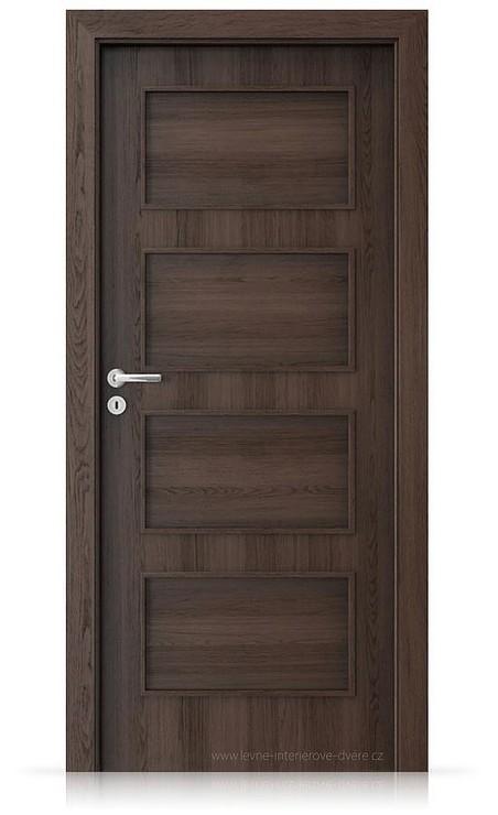 Interiérové dveře Porta FIT H.0 Portaperfect 3D DUB HAVANA