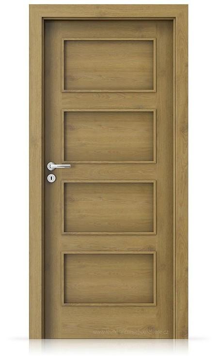 Interiérové dveře Porta FIT H.0 Portaperfect 3D DUB PŘÍRODNÍ