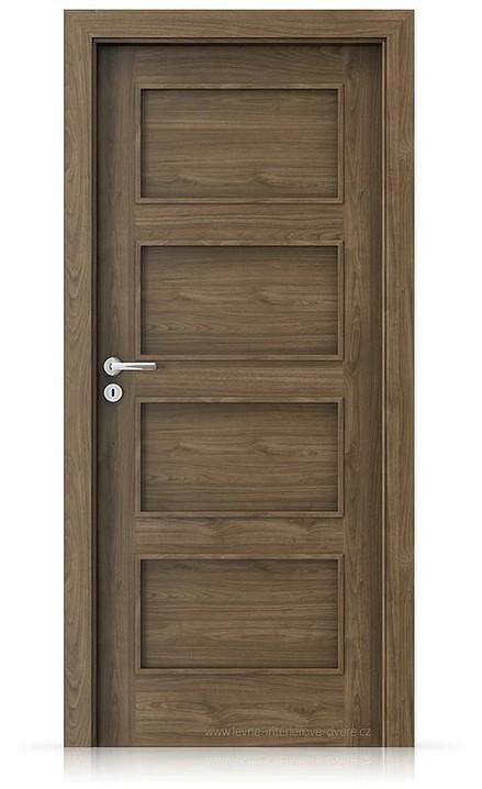 Interiérové dveře Porta FIT H.0 Laminát CPL HQ OŘECH PŘÍRODNÍ